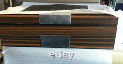 Lifomenz Co Pen Display Box Ebony Wood Pen Display Case, Fountain Pen Storage Pe