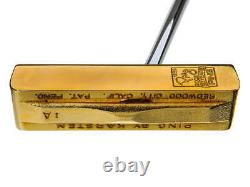 Lightly Used Ping 1-A 50th Anniversary Gold Putter with Display Case