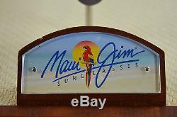 Maui Jim Guy Harvey Wood Sunglasses Store Rack Holder Counter Or Case Display