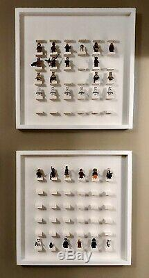 Minifigure Display Case for LEGO, fits 36