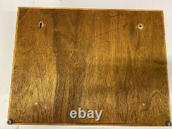 NAPA VALLEY BOX COMPANY 100 x 4 Cassette tapes Storage Display Case Lot Wood