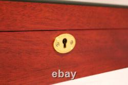 New Large Watch Timepiece Storage Wood Display Chest Box Wooden Case Cabinet