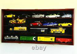O Scale Model Train Car Display Case Rack Holder Box Holds Up To 16 Trains