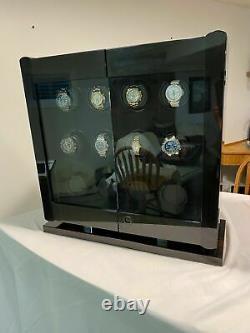 Orbita Avanti 12 Automatic Watch Winder Macassar/Carbon W22031 Display Case