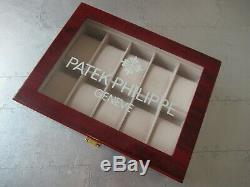 Patek Philippe Watch Display Case (Holds 10 Watches)