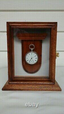 Pocket watch single display case