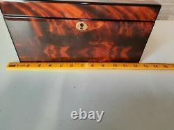 Rapport Of London Walnut Wooden 12 Slot Watch Box Display / Storage Case
