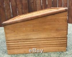Rare 1940's Original Esterbrook Renew Point Wood Nib Display Case Fountain Pens