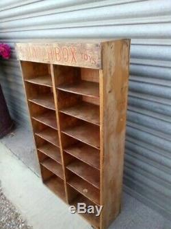 Rare vintage Matchbox Toys shop counter display case