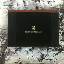 Rolex Luxury Presidential Display Case / Box Holds 20 Watches