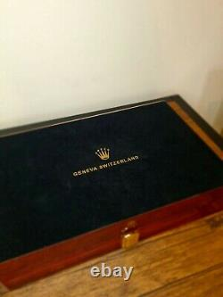 Rolex Presidential (Ltd Edition) Watch Display Case / Box Holds 12 watches