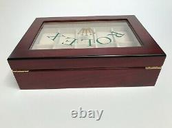Rolex Presidential Luxury Display Watch Display Case/Box Holds 10 Watches