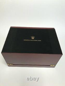 Rolex Presidential Watch Case. The Ultimate Display Case / Box Holds 20 watches