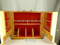 SALE! Vintage Shaklee Wood Used Multilevel Sales Travel Case Display Rare MLM
