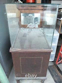 Sheaffer's Sheaffer Fountain Pen Store Display Case 50s 60s 3 x 2 x 2 Vintage