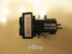 Shure V-15 Type II Cartridge & Genuine Shure Vn-15e Stylus In Wood Display Case