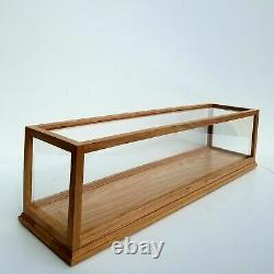 Solid Oak Wood Handmade Display Case 10Length x10Width x34Height READY TO SHIP