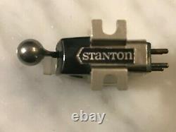 Stanton 681eee Cartridge & Genuine Stanton D6800eee Stylus In Wood Display Case3