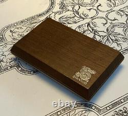 Stanton 681eee Cartridge & Genuine Stanton D681eee Stylus In Wood Display Case