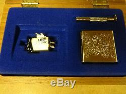 Stanton 681eee Cartridge + Stylus In Wood Display Case