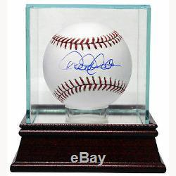 Steiner Single Baseball Glass Display Case Wood Base New In Box