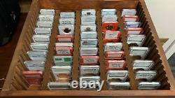 Storage & Display natural wood Box Case Holds 100 PCGS NGC Coin Holders Slabs