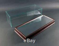 TRIPLE 9 18001 Display case wooden base & mirror top surface, glass top 118th