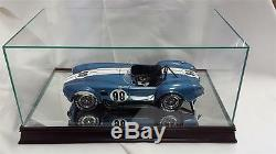 The 112 Scale Glass and Wood Display Case for Scale Model Cars MM1212