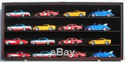Toy Cars Wheels Model Car O Scale Train Display Case Cabinet Wall