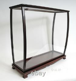 USS Constitution Old Ironsid Tall Ship 38 Model Sailboat Display Case Assembled