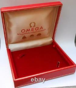VINTAGE WATCH BOX FOR OMEGA DISPLAY CASE 50s 60s