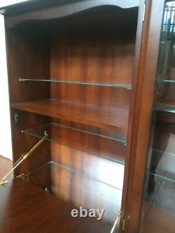 Vintage Display Cabinet Sideboard Mini Bar Wall Unit FREE MANCHESTER DELIVERY