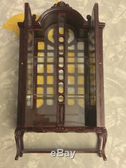 Vintage Dollhouse FANTASTIC MERCHANDISE CURIO DISPLAY CASE CHINA CABINET New