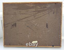 Vintage Gillette Razor Blade Counter Display Case Wood and Glass