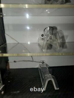Vintage Oakley Sunglasses Wood And Plexiglass Locking With Key Display Case
