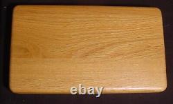 Vintage Schrade Scrimshaw 4-Knife 1998 Wildlife Collector Set Wood Display Case