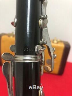 Vintage Selmer Signet Special Wood Clarinet for Restoration/Display Bundy Case