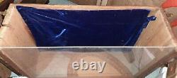 Vintage Wood Table Counter Display Case 24 x 18 x 8 Antique Doll Flea Market