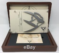 Visconti Divina Proporzione Fountain Pen Wood Display Case Only without Pen