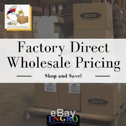 Wholesale Case (36) BCW Real Walnut Wood Base Baseball Holder Display Protector