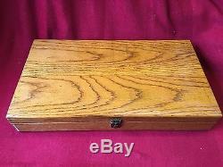 Wood Display Box Colt Single Action Army SAA 7-1/2 Presentation Case GREEN 40