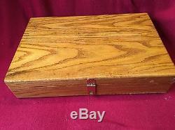 Wood Display Box Colt Single Action Army SAA 7-1/2 Presentation Case PURPLE 39
