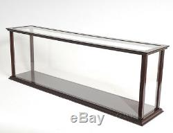 Wooden Table Top Ship Model Display Case For 40 Ocean Liner & Cruise Ships New